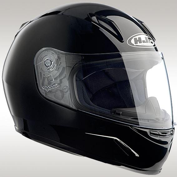 HJH057 CL-Y ソリッド ブラック M ジュニア用ヘルメット HJC(エイチジェイシー)