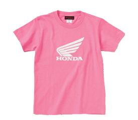 ウイングTシャツ キッズ用 J(ピンク) 90サイズ HONDA(ホンダ)