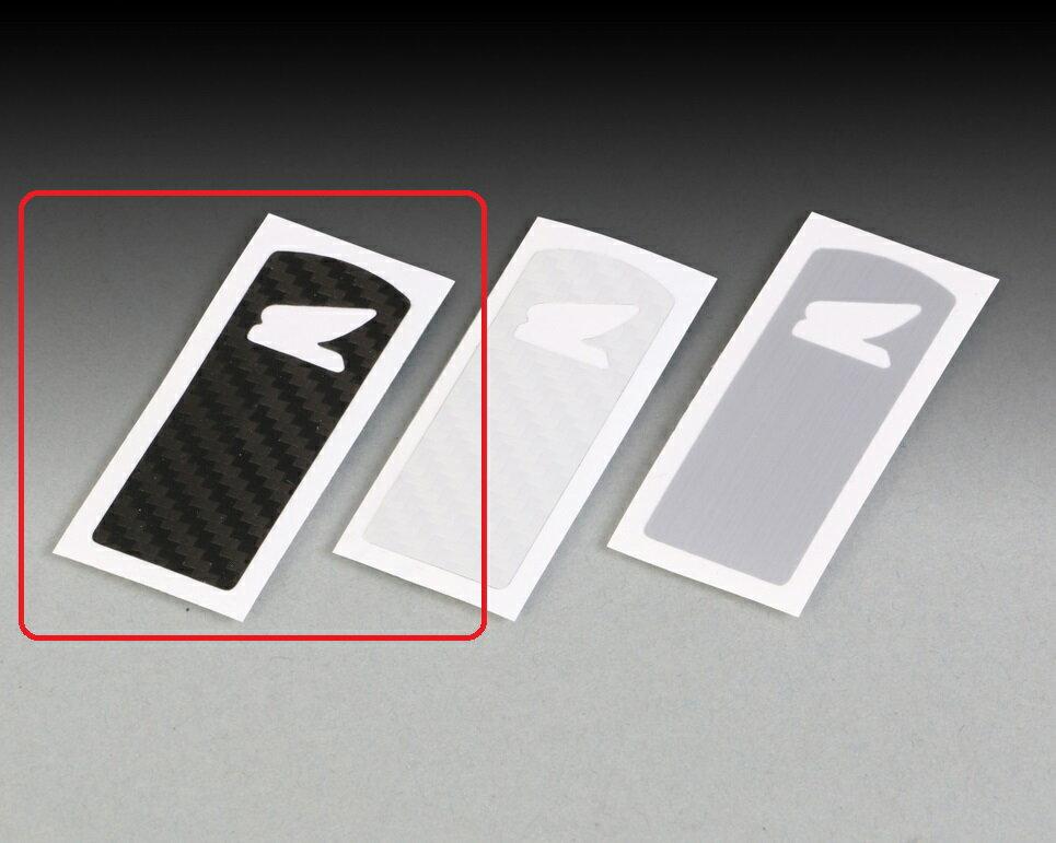 スマートキーステッカー ブラック(カーボン調) KITACO(キタコ) PCX150(KF30)
