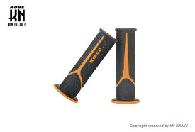 KOSO メテオデュアルカラーグリップ(ブラック/オレンジ)120mm KN企画