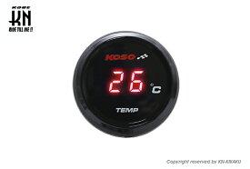 KOSO i-Gearメーター(温度計) レッド表示 KN企画