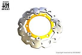 RCBホイール用 フローティングタイプディスク230mm ゴールド(S-SERIES) KN企画 NMAX155ABS(BV4)国内仕様