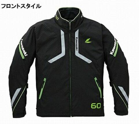 ラングレーオールシーズンジャケット G (秋冬モデル) グリーン・Lサイズ KAWASAKI(カワサキ)