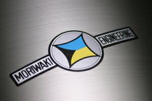 耐熱トレードマークステッカー MORIWAKI(モリワキ)