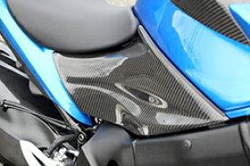 シートサイドカバー (左右セット) 綾織りカーボン製 MAGICAL RACING(マジカルレーシング) GSX-S1000(16年〜)