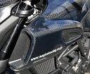 DUCATI Diavel(11〜14年) エアダクトカバー・左右セット 平織りカーボン製 MAGICAL RACING(マジカルレーシング)