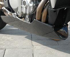 Mv Agusta BrutaleブルターレS(03年) アンダーカウル/平織りカーボン製 MAGICAL RACING(マジカルレーシング)