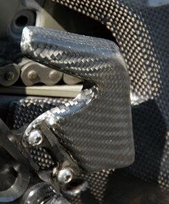 Mv Agusta F4(00〜09年) ヒールガード 平織りカーボン製 MAGICAL RACING(マジカルレーシング)