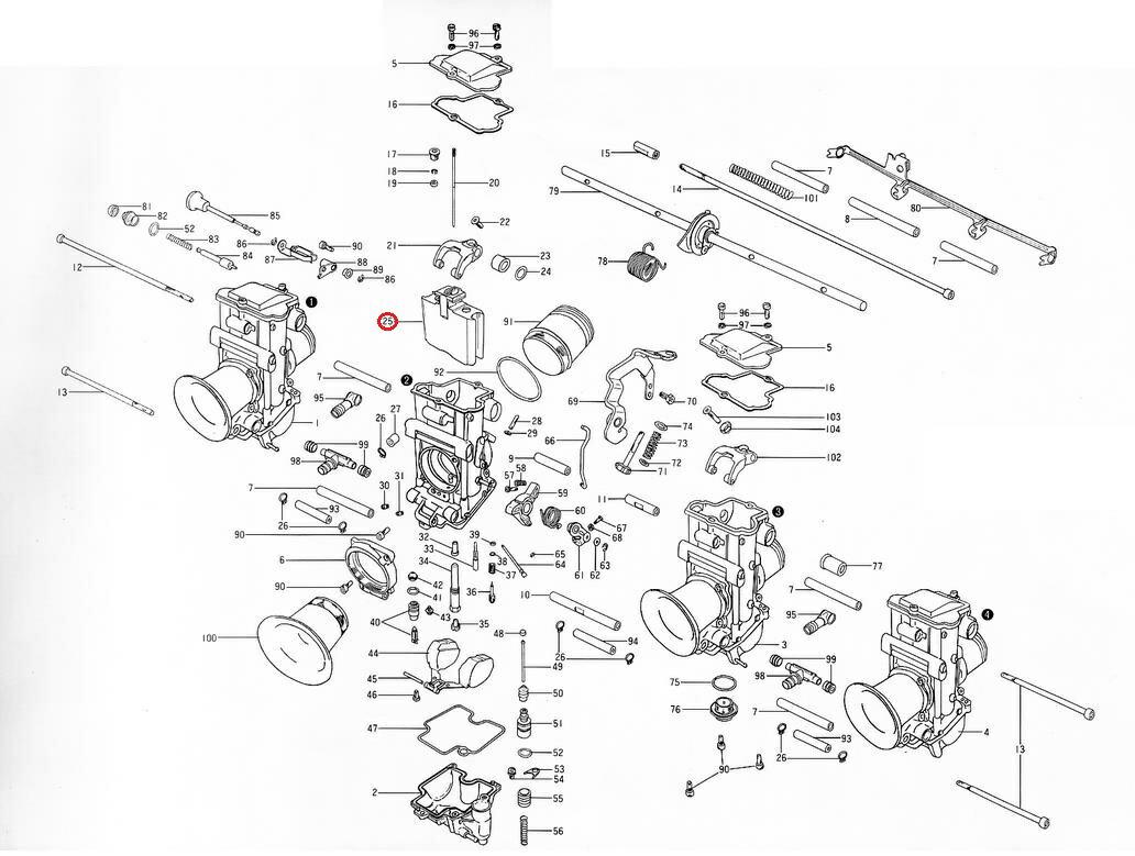 TMR36Φ-41Φ用スロットルバルブ MIKUNI(ミクニ)