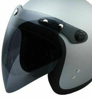 VHヘルメット専用シールド スモーク フリーサイズ RIDEZ(ライズ)