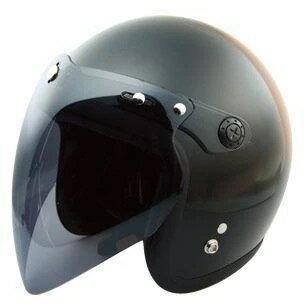 VHヘルメット専用シールド ライトスモーク フリーサイズ RIDEZ(ライズ)