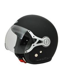 SPJ-9103S Gayla ジェットヘルメット SOLID マットブラック フリーサイズ(58〜60cm) SPOON JET(スプーンジェット)
