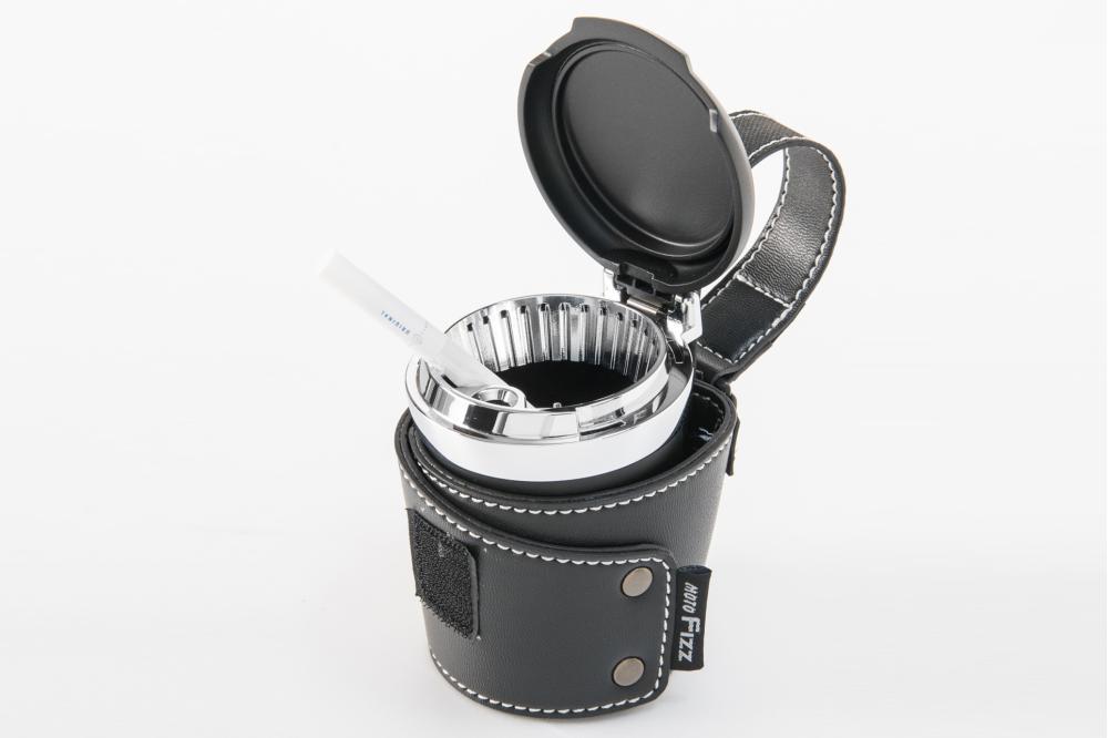 アッシュボウル ブラック×ホワイト(バイク用灰皿) タナックス(TANAX)