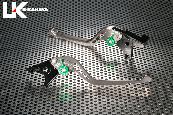 XT1200Z SUPERTENERE(スーパーテネレ)10年〜 GPタイプ ロングアルミビレットレバーセット(チタンカラー) U-KANAYA