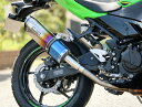 SS-OVAL スリップオンマフラー 焼き色タイプ WR'S(ダブルアールズ) Ninja400(ニンジャ)18年