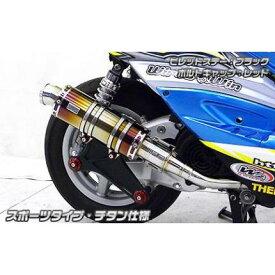 シグナスX(1型)国内SE12J アニバーサリーマフラースポーツタイプ チタン仕様 ウイルズウィン(WirusWin)