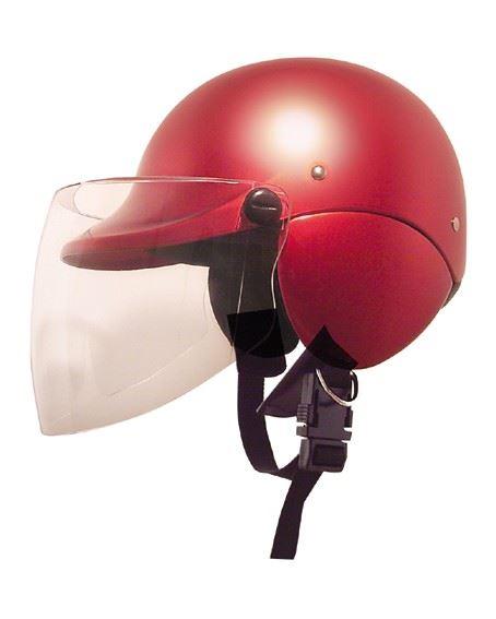 XSJセミジェットヘルメット キャンディレッド(4950545390431) X-EUROPE(クロスヨーロッパ)