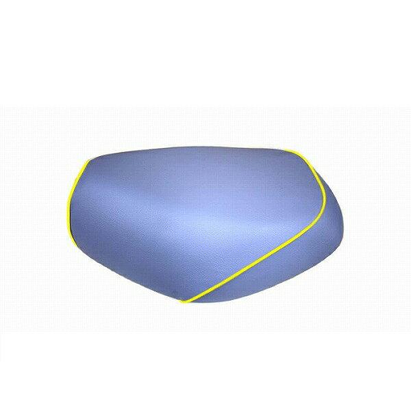 グロンドマン GH14HC340P100 グロンドマン 国産 シートカバー ライトブルー/黄色パイピング 張替 リトルカブ アルバ gh14hc340p100