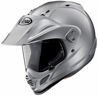 ARAI motorcycle helmet Arai Arai ARAI TOUR CROSS3 tour cross 3 alumina silver 55 - 56 off road driving