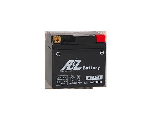 YFM250R (四輪バギー) バッテリー AZバッテリー ATZ7S AZ MCバッテリー 液入リ AZバッテリー atz7s YFM250R (四輪バギー) 年式 10年7月- 液入れ充電済