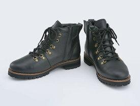 デイトナ 16838 ヘンリービギンズ HBS-005 ブラック 24.5cm マウンテンブーツ 靴 くつ ブーツ レザー 本革 ライディングシューズ アウトドア バイクブーツ