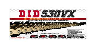 DID 530VX-130ZB(kashimetaipu)VX系列X環封鏈子黄金/黄金4525516376761