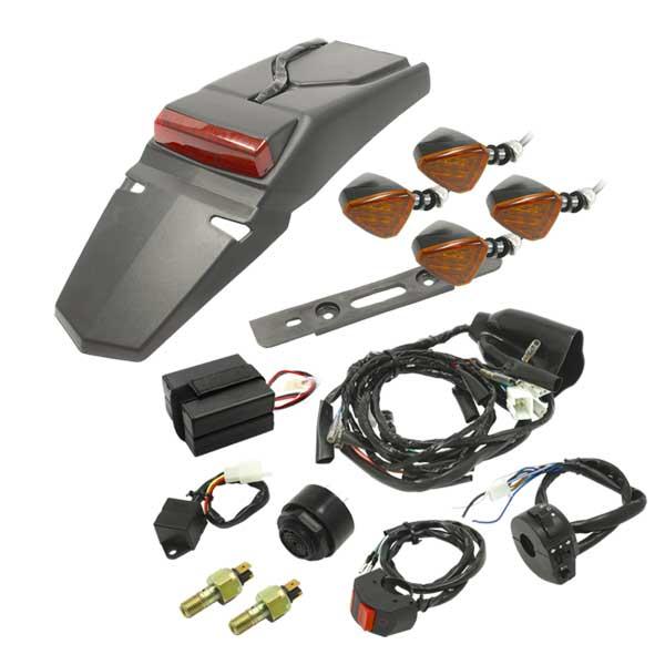 DRC D45-70-053 電装パーツ モトレッド イージーデンソーキット #2 アナト ウインカー付 コンペティションモデル
