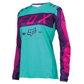 FOX 17273-533-L 180 ジャージ ウーマンズ Lサイズ 17273 パープル/ピンク