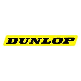 FX FX04-2669-1 レーシング ステッカー each DUNLOP イエロー 22cm