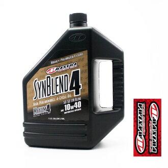 MAXIMA MX51-349128B 4st油SynBlend 10w40 3785ml(128oz)