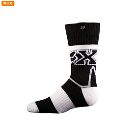 FOX フォックス 12234-018-S ソックス ユース フライ シック インペリアル ブラック/ホワイト YSサイズ ユース/子供用 くつした 靴下 子供用 ダートフリーク