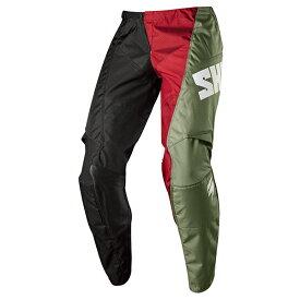 SHIFT シフト 19327-001-30 ホワイトレーベル ターマック パンツ 2018 ブラック 30インチ ズボン ダートフリーク