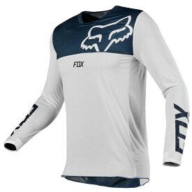 FOX フォックス 19422-045-M エアーライン ジャージ 2019 ネイビー/ホワイト Mサイズ 長袖Tシャツ ダートフリーク