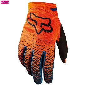 FOX フォックス 19509-230-S ダートパウ グローブ 2018 グレー/オレンジ Sサイズ ウーマンズ レディース 女性用 手袋 ダートフリーク