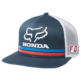 FOX フォックス 22996-007-OS ホンダ スナップバックハット ネイビー ワンサイズ ぼうし 帽子 ダートフリーク