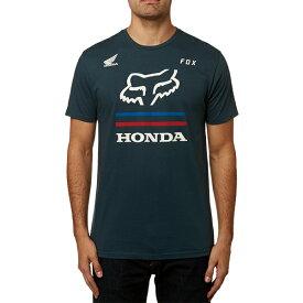 FOX フォックス 23132-007-XL ホンダ プレミアム Tシャツ ネイビー XLサイズ 半袖Tシャツ ダートフリーク