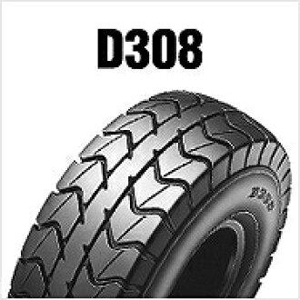 邓禄普邓禄普 256283 D308 130 / 90-6 53 J 后方 WT 摩托车轮胎邓禄普 256283