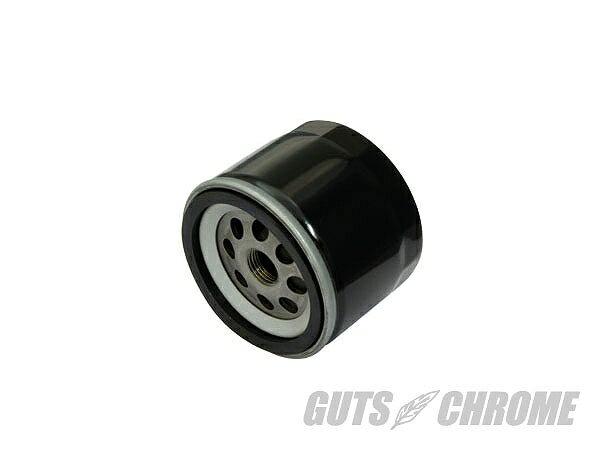 GUTS CHROME ガッツ クローム 8600-5543 ショートオイルフィルター ブラック ガッツ クローム 8600-5543