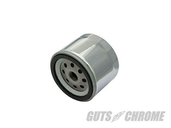 GUTS CHROME ガッツ クローム 8600-6109 ショートオイルフィルター クローム ガッツ クローム 8600-6109