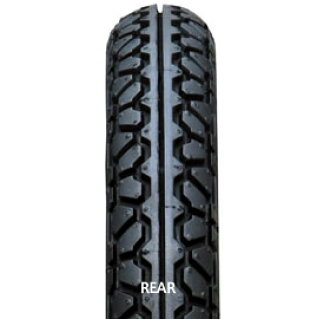 IRC wells on the rubber 301601 NR 21 3.00-16 4PR WT rear motorcycle tire IRC wells on the rubber 301601