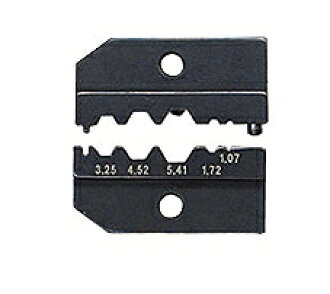 Ability for KNIPEX country pecks 9749-50 pressure bonding dice (for 9743-200) pressure bonding (SWmm): Ability for 3.25/4.52/5.41/1.72/1 .07 pressure bonding (AWG): 3.9/5.4/6.4/2.1/1.3/0 .95 mass (g): 48