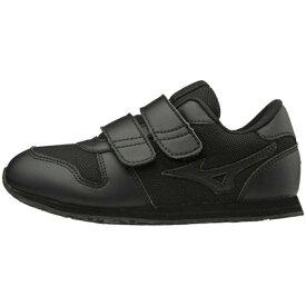 MIZUNO ミズノ K1GD1840 ミズノランキッズモノ キッズシューズ/靴 ブラック 21.5cm