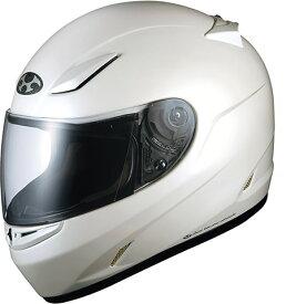 OGK KABUTO FF-R3 パールホワイト ヘルメット フルフェイス サイズ:Sサイズ