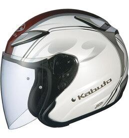 OGK KABUTO AVAND2 アヴァンド2 CITTA チッタ パールホワイト ヘルメット ジェット サイズ:Lサイズ
