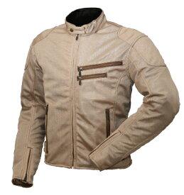 ラフ&ロード R&R RR7313BEL3 ライディングZIPメッシュジャケット WLサイズ/レディース ベージュ ジャケット