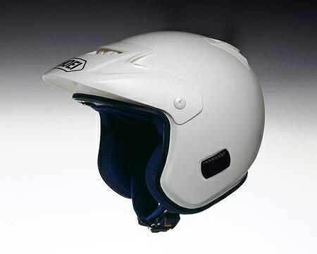 SHOEI ショウエイ TR-3 ホワイト Lサイズ ショウエイ SHOEI ヘルメット ジェット