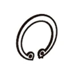 供SP武川takegawa 00-00-0643 C型環28mm離合器覆蓋物配套元件使用的3個裝的修理零部件