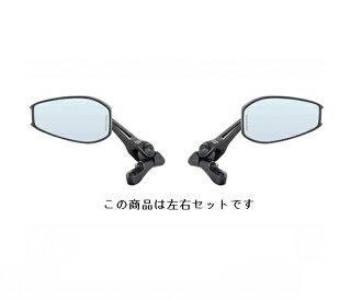タナックス TANAX AOS4B Napoleon shark Mira -4B right and left set mirror 10mm blue mirror タナックス aos4b