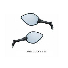 タナックス Tanax AYB-10 左右セット クロス3 ブルーミラー 10mm 正ネジ ブラック 左右セット タナックス ayb-10-lr