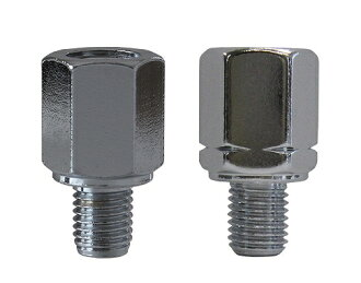 By Tanax HM-8 reverse thread adapter 8 mm screw for chrome by hm-8
